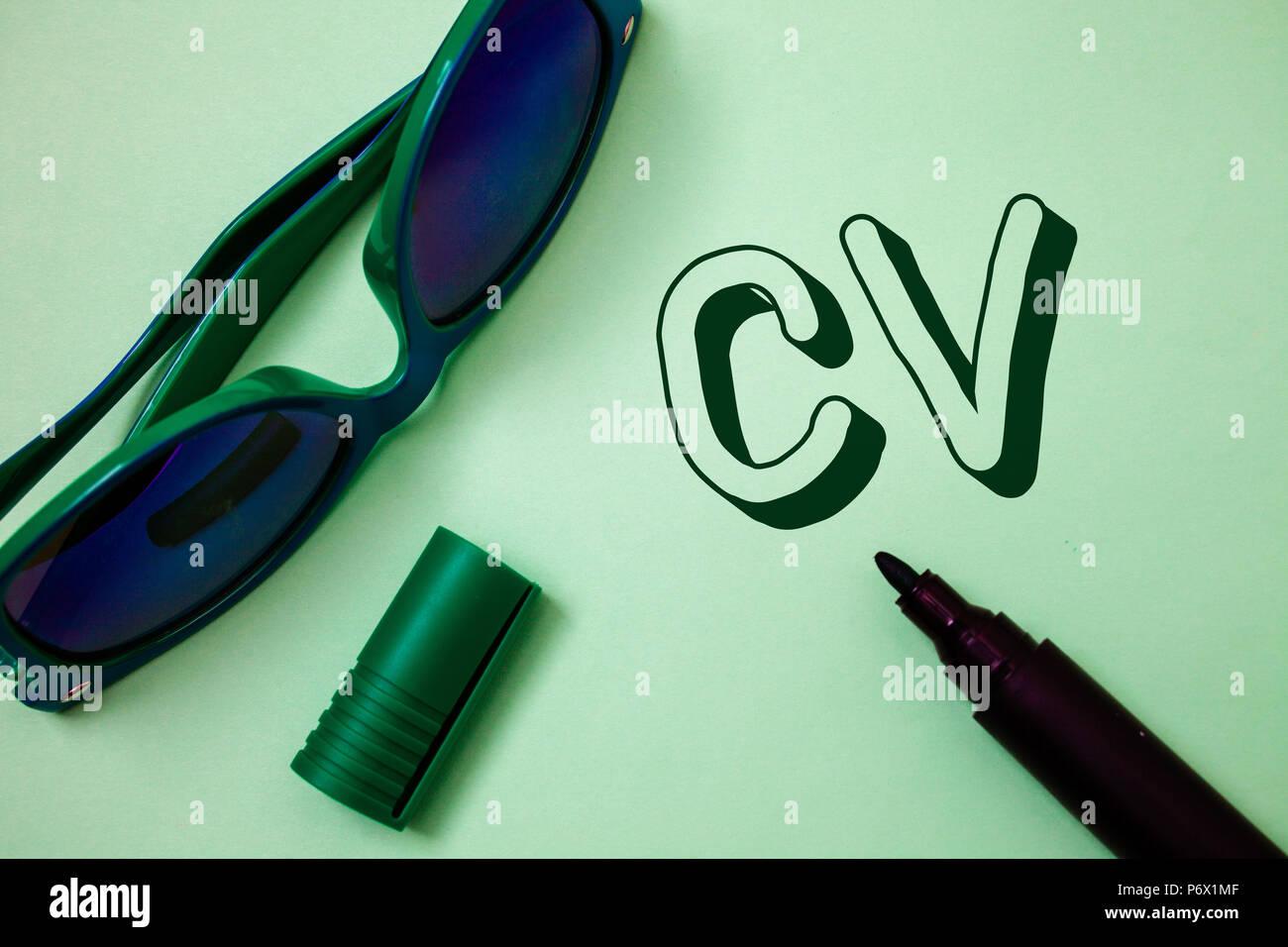 Cv Writing Imágenes De Stock & Cv Writing Fotos De Stock - Alamy