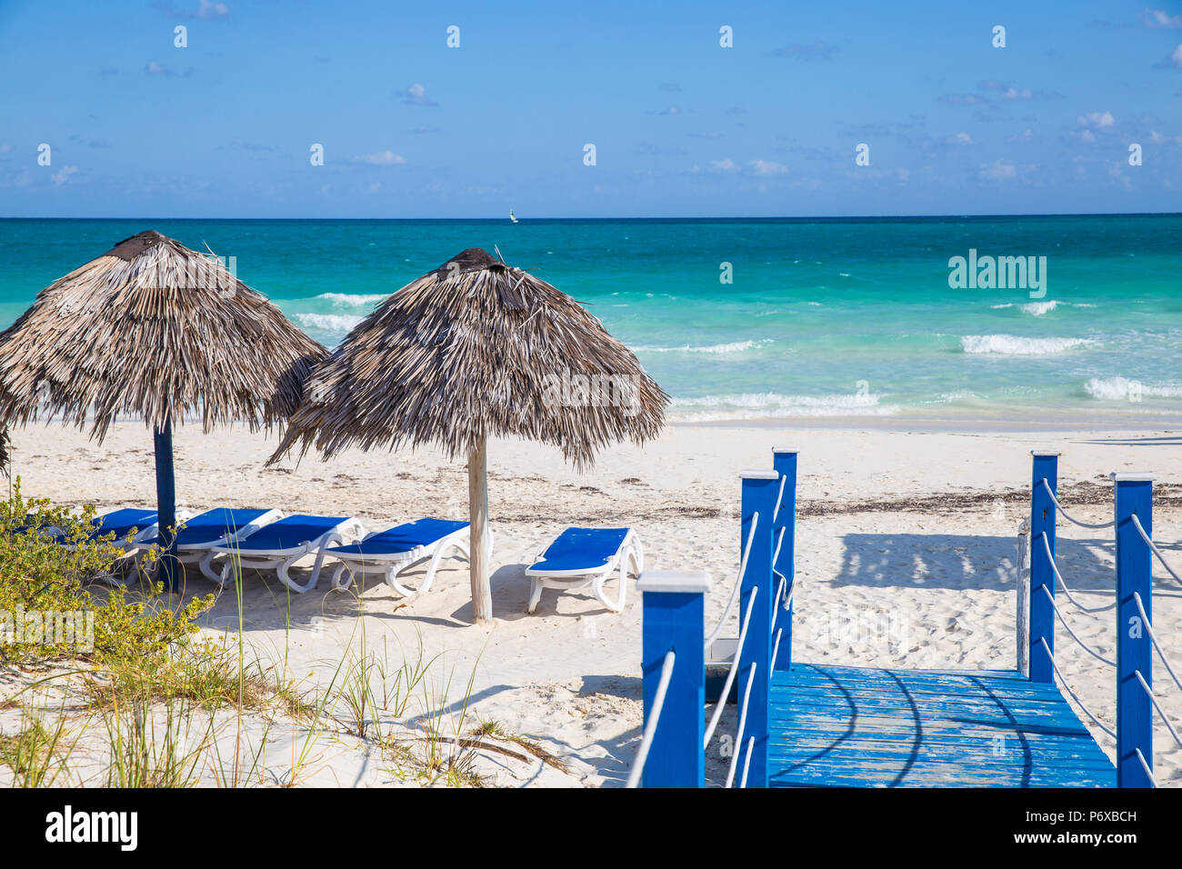 Cuba, Jardines del Rey, Cayo Guillermo, Playa Pilar Imagen De Stock
