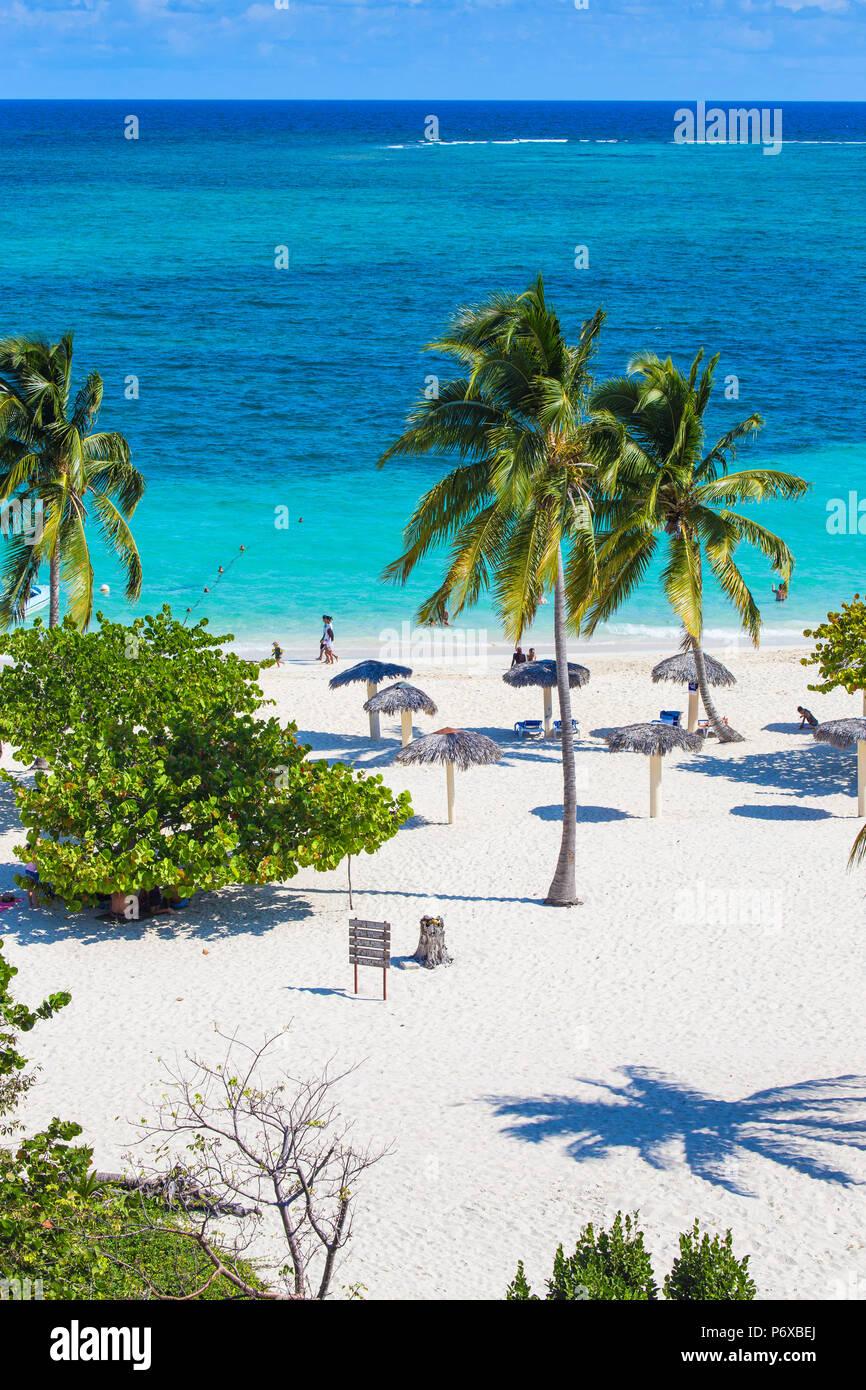Cuba, la provincia de Holguín, Playa Esmeralda Imagen De Stock