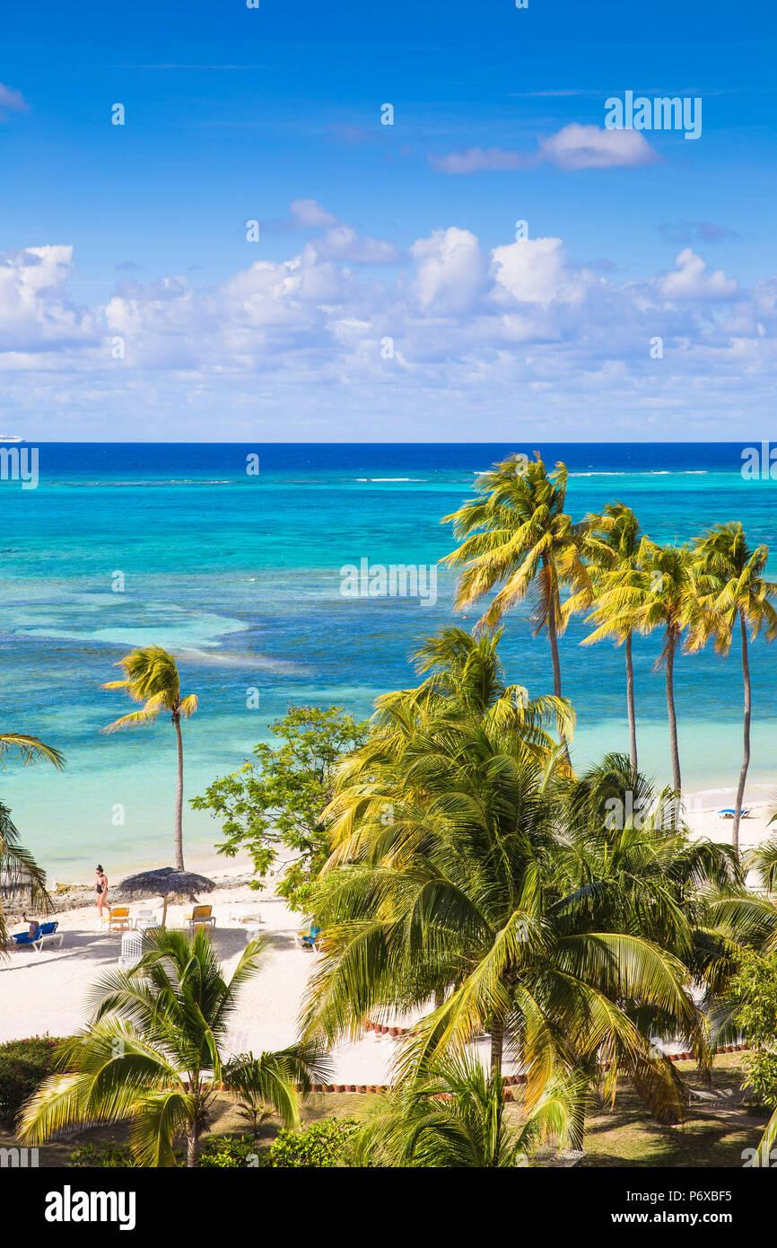 Cuba, la provincia de Holguín, Playa Guardalvaca Imagen De Stock