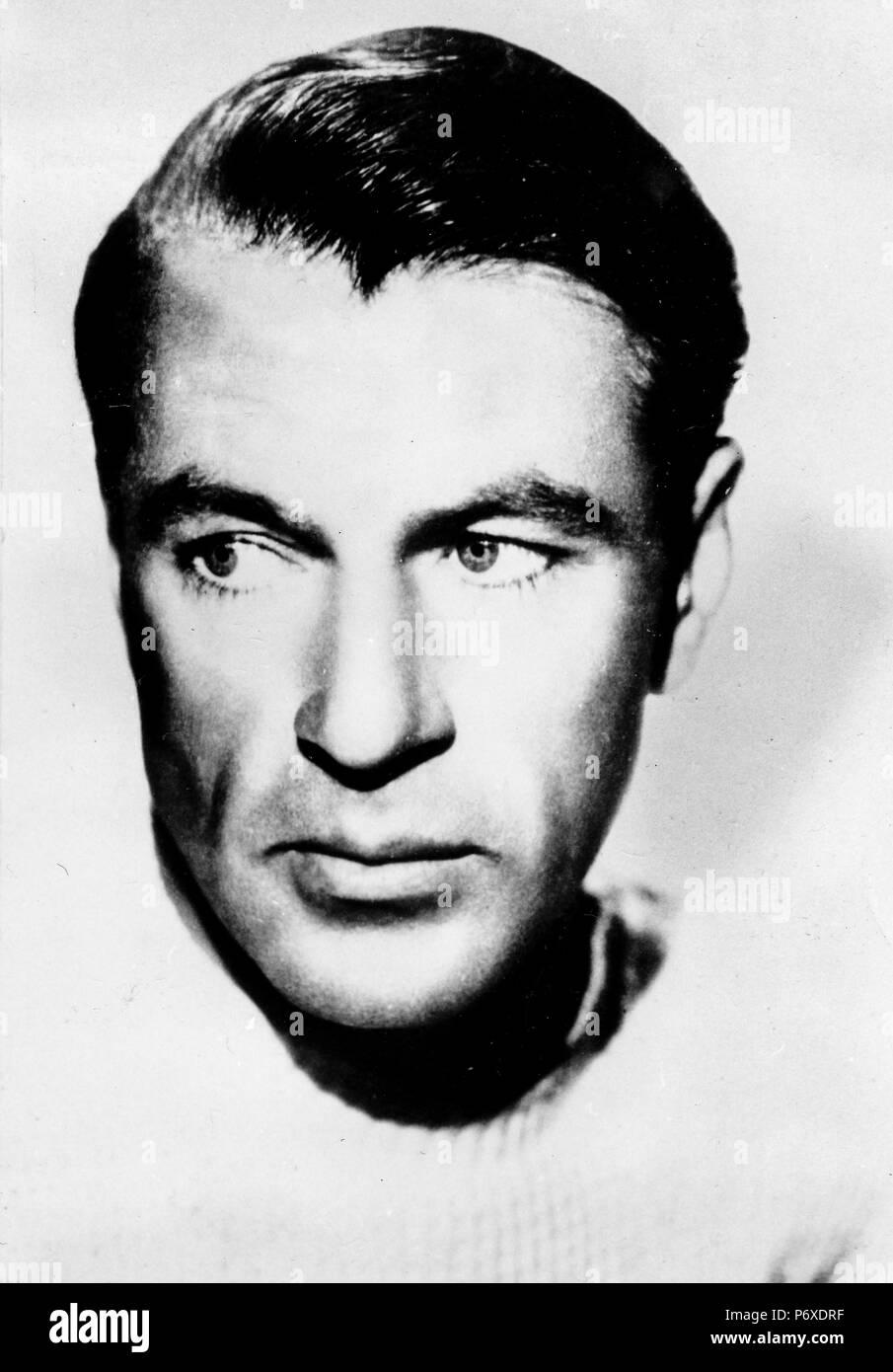 Gary Cooper, 30s Imagen De Stock