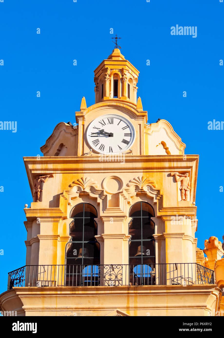 Argentina, Córdoba, vista detallada de la Catedral de Córdoba. Imagen De Stock