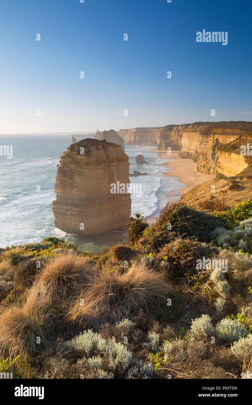 Doce Apóstoles, Port Campbell National Park, Great Ocean Road, Victoria, Australia Imagen De Stock