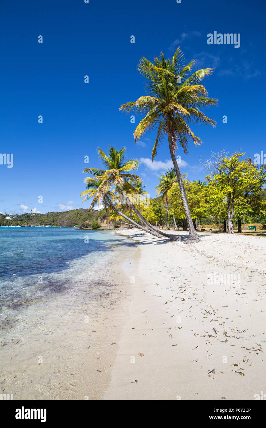 San Vicente y las Granadinas, Mustique, Brittania Bay Beach Imagen De Stock