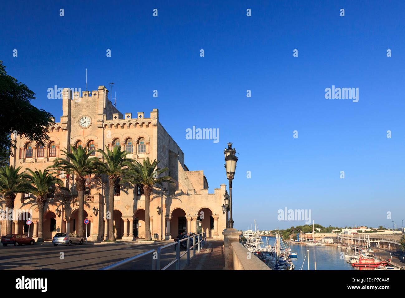 España, Islas Baleares, Menorca, Ciutadella, Casco antiguo Imagen De Stock