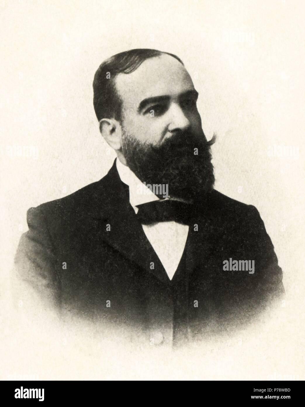 Andrés Martínez Vargas (1861-1948), médico y pediatra barcelonés. Año 1930. Foto de stock