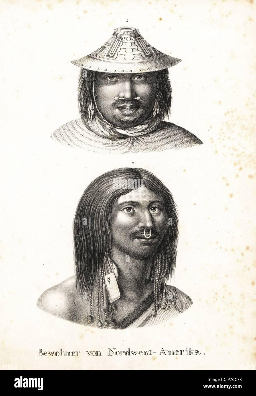 Hombre de Chugach de Prince William Sound en decorado cónico sombrero 5cac2474b939
