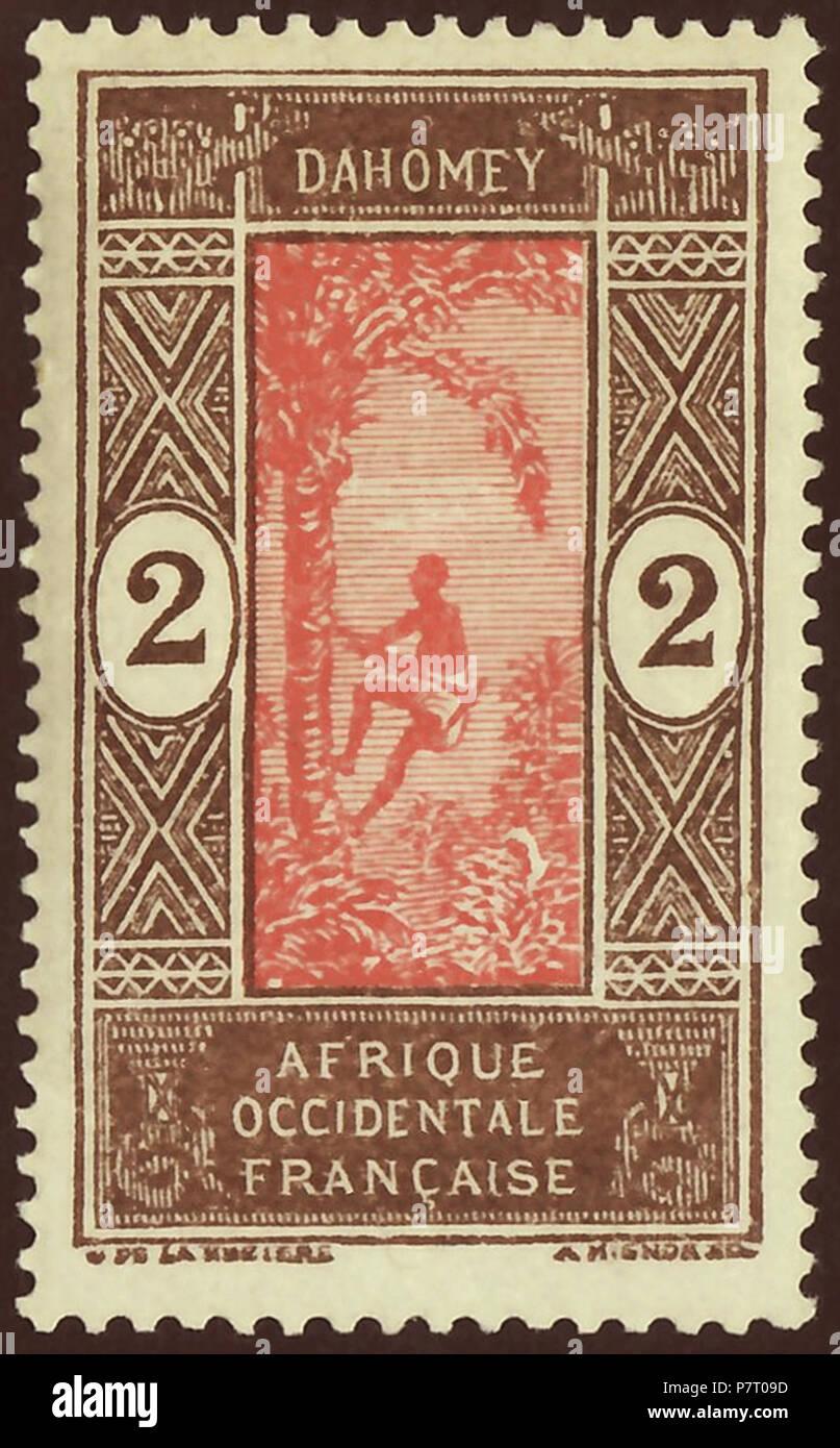 Sello contemporáneo de Dahomey (Benin) como semi-autónomo ...