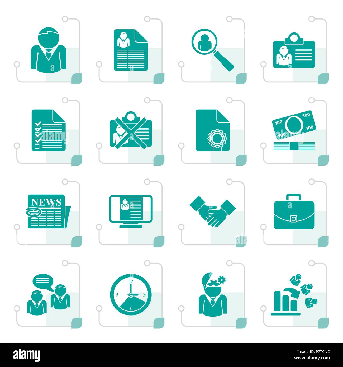 Resume Vector Icons Set Imágenes De Stock & Resume Vector Icons Set ...