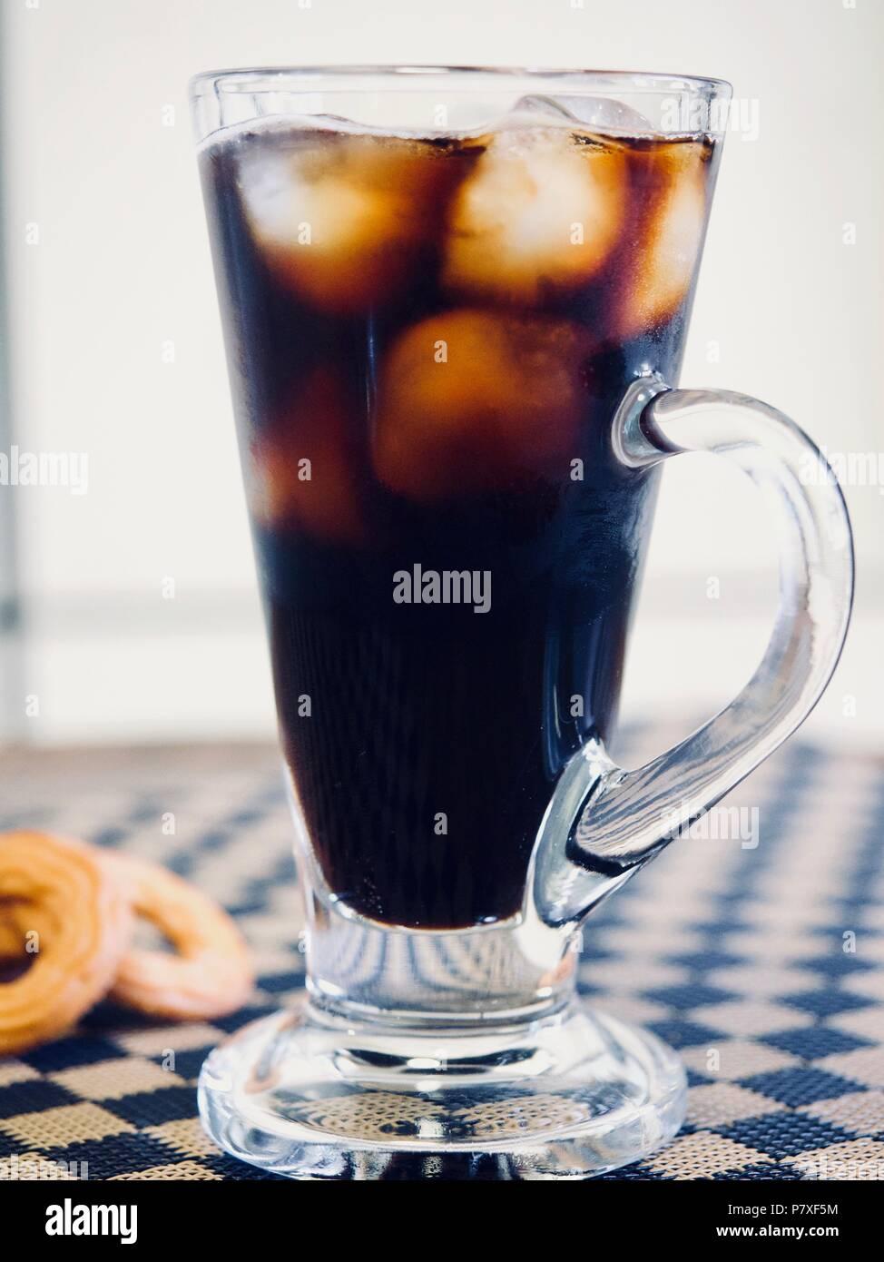 Hielo Americano, bebida fría Imagen De Stock