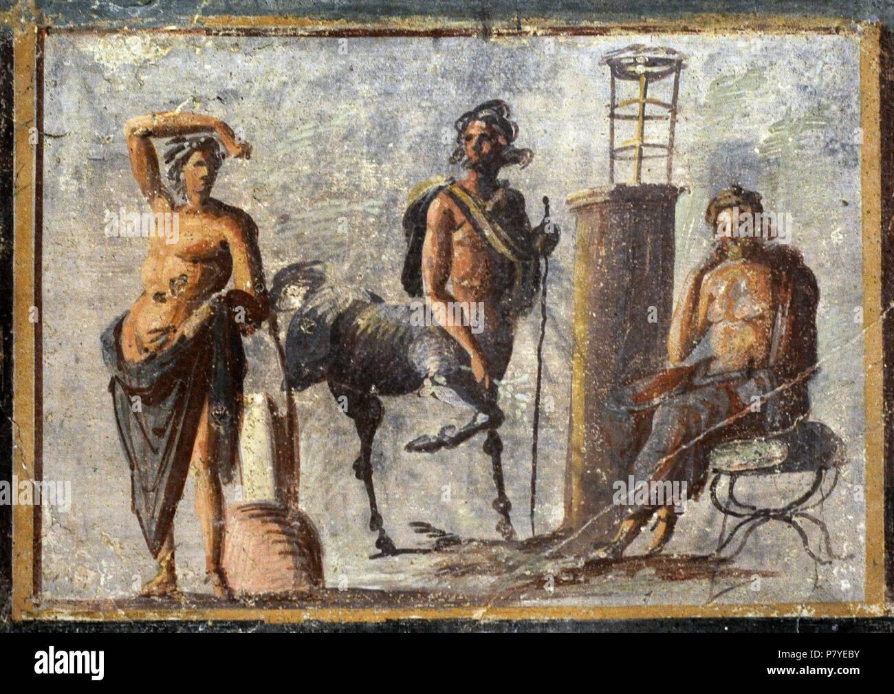 Fresco representando Apolo b9ee980679f66