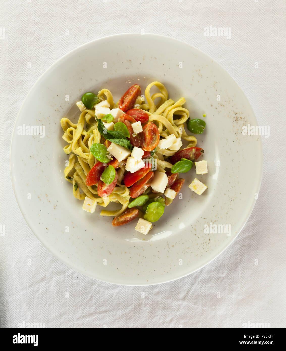 Comida italiana Imagen De Stock