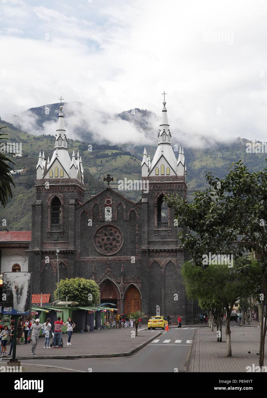 Baños de Agua Santa Ecuador Imagen De Stock