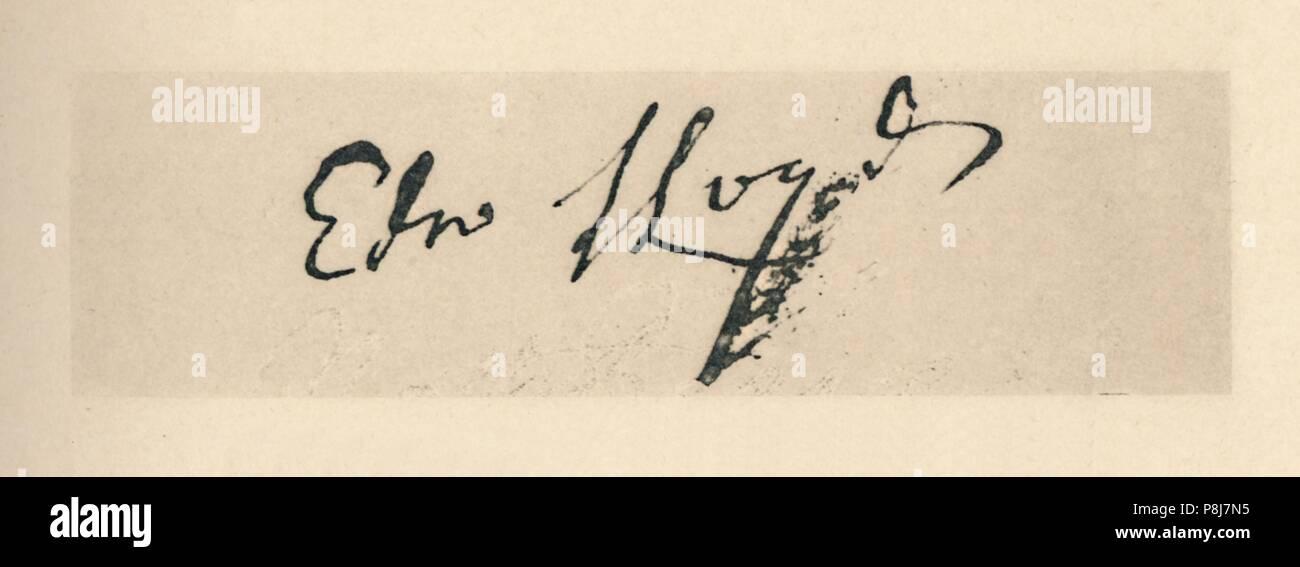 low cost f7926 13907 Firma de Edward Lloyd, 1712