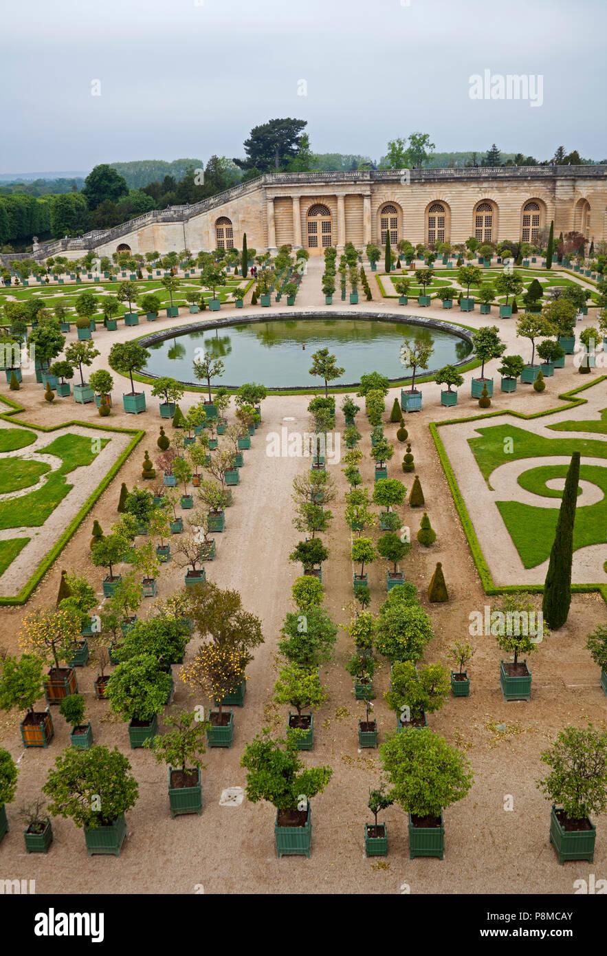 Palacio de Versalles, Francia, Europa Foto de stock