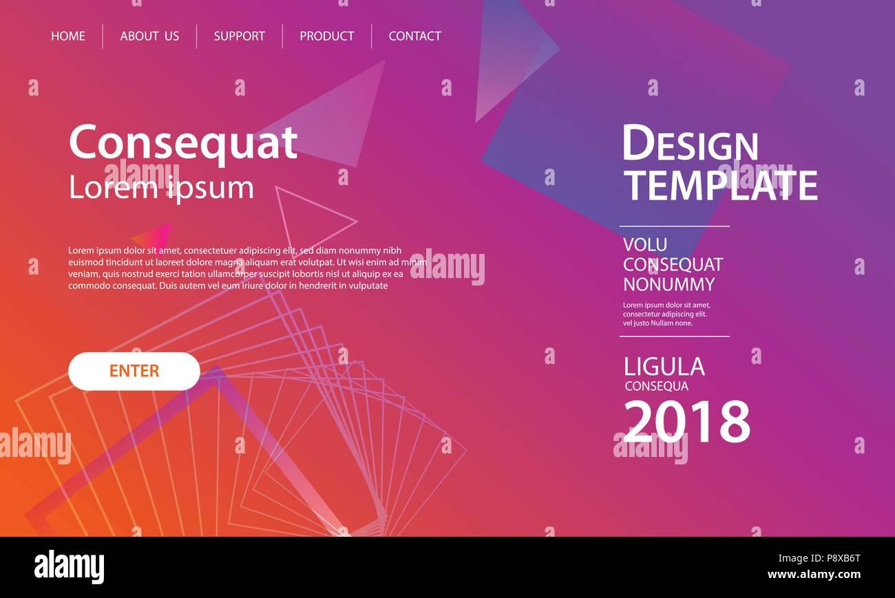 Diseño de plantillas de sitio web y página de aterrizaje de formas ...