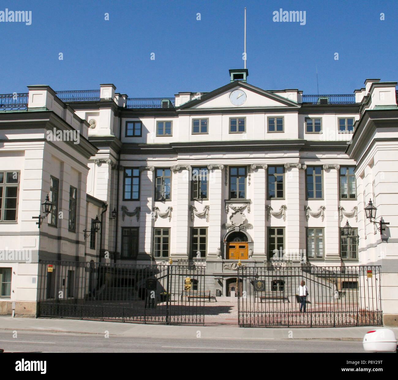 Corte Suprema de 2007 en Estocolmo, Suecia. Foto de stock