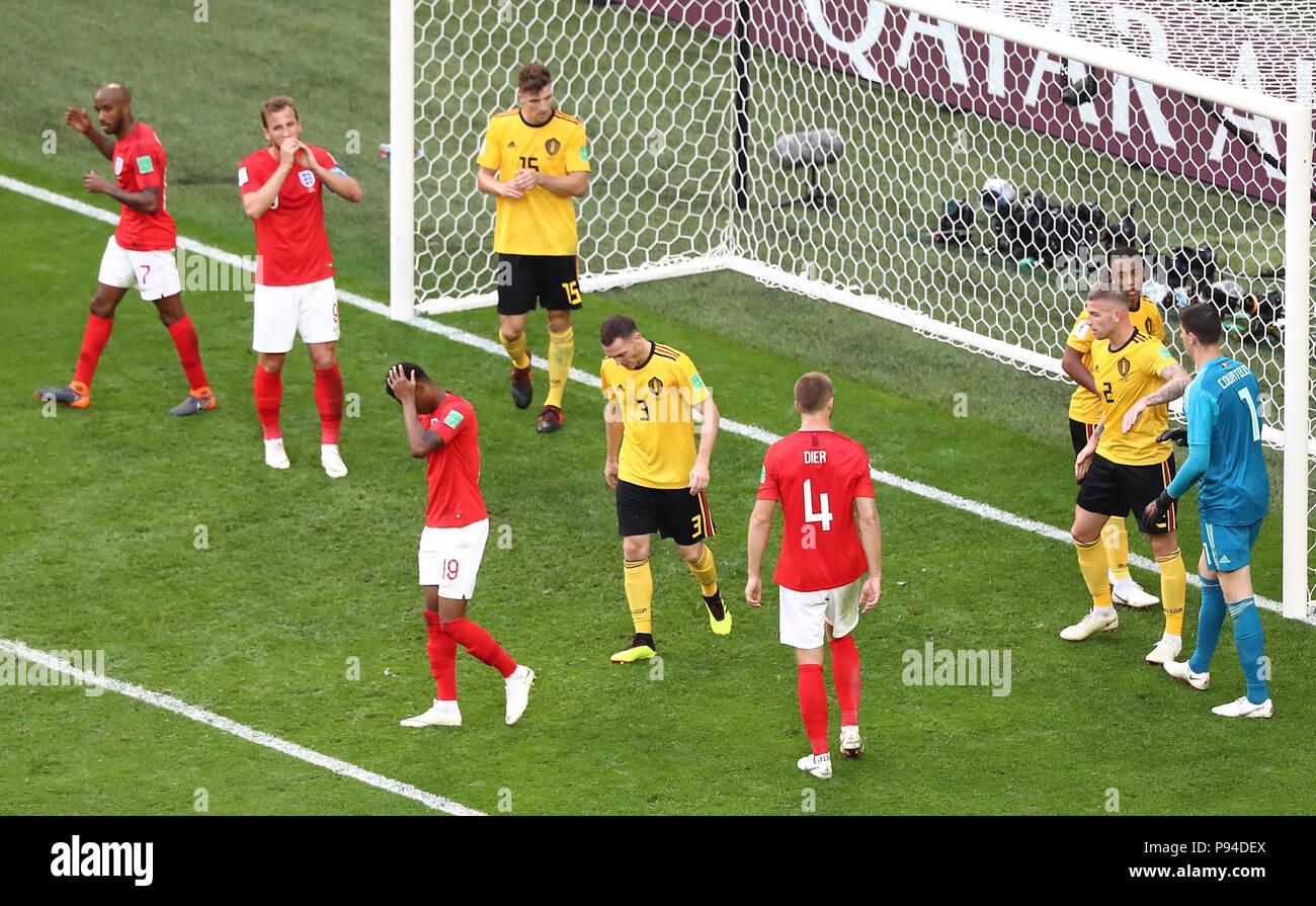 Inglaterra jugadores aparecen abatidos tras Eric más dier (cuarto ...