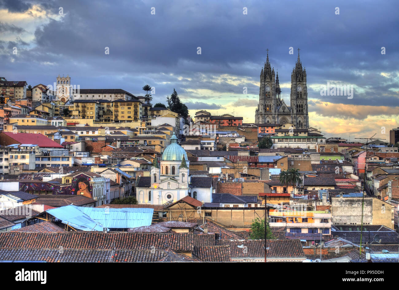 Quito, capital de Ecuador Imagen De Stock