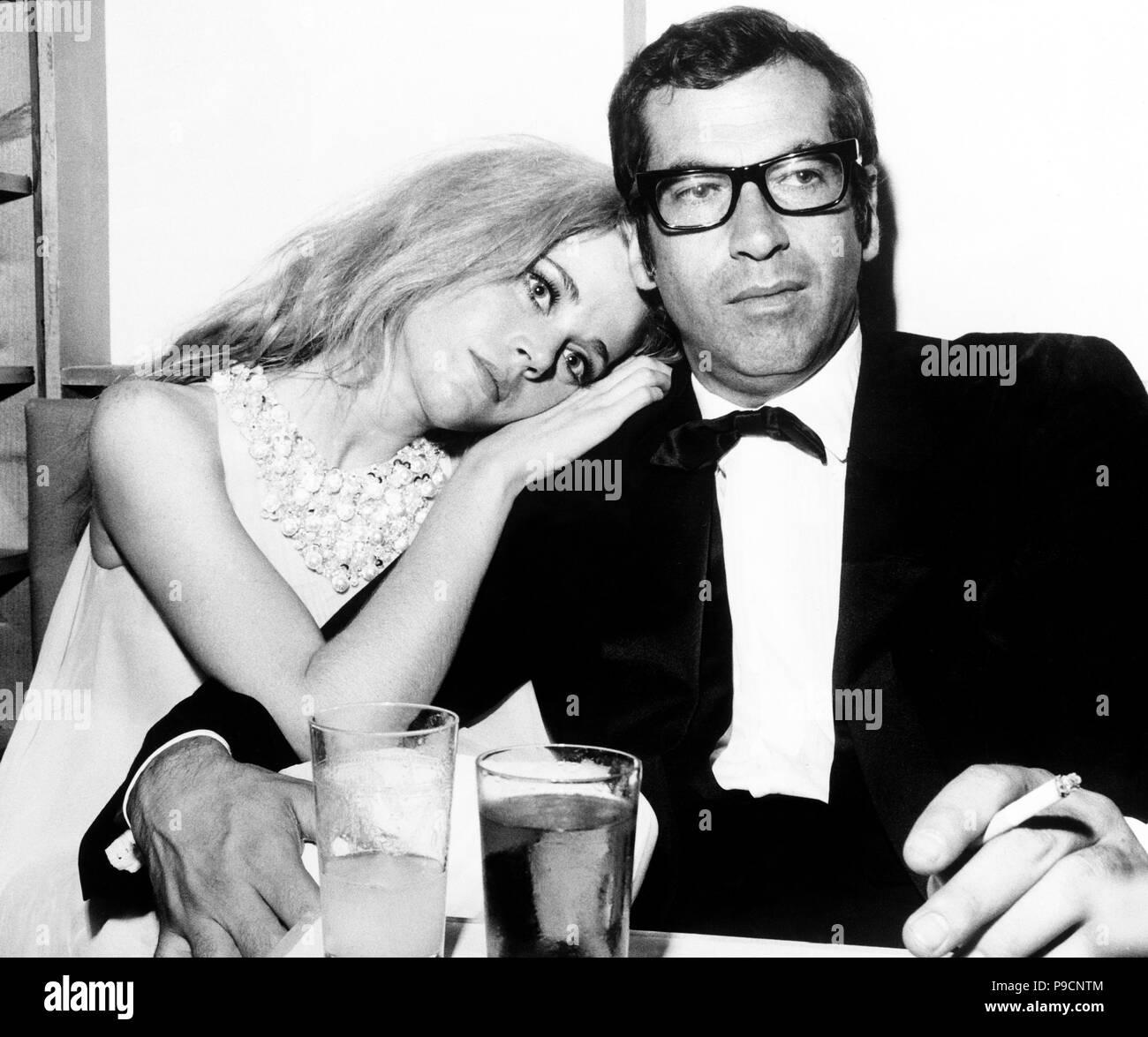 Jane Fonda, Roger Vadim, 1967 Foto de stock