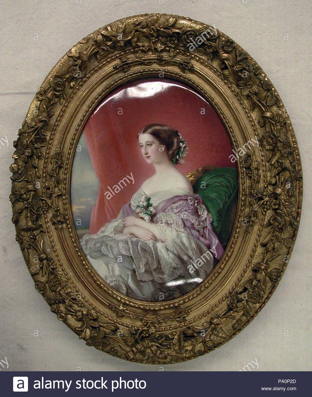 Painting By Franz Xaver Winterhalter Imágenes De Stock & Painting By ...