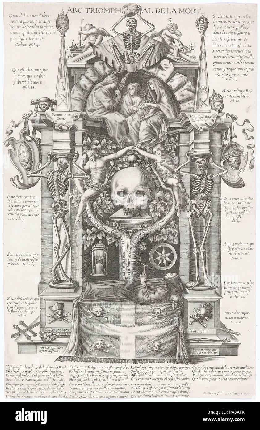El arco triunfal de la muerte. Museo: Musée d'art et d'histoire, Genf. Foto de stock