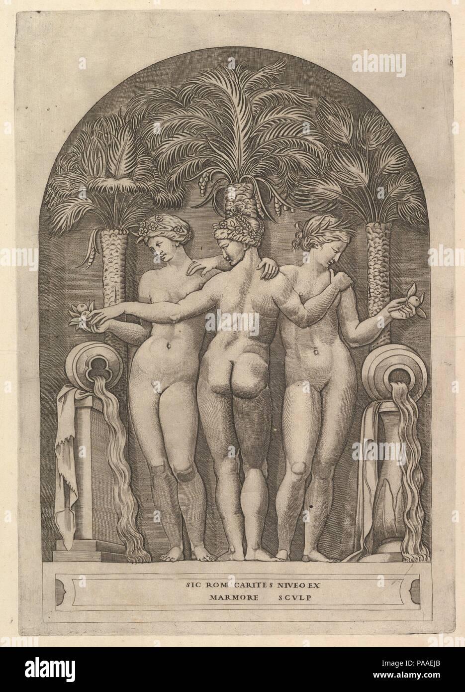 Speculum Romanae Magnificentiae: Las Tres Gracias. Artista: Marco ...