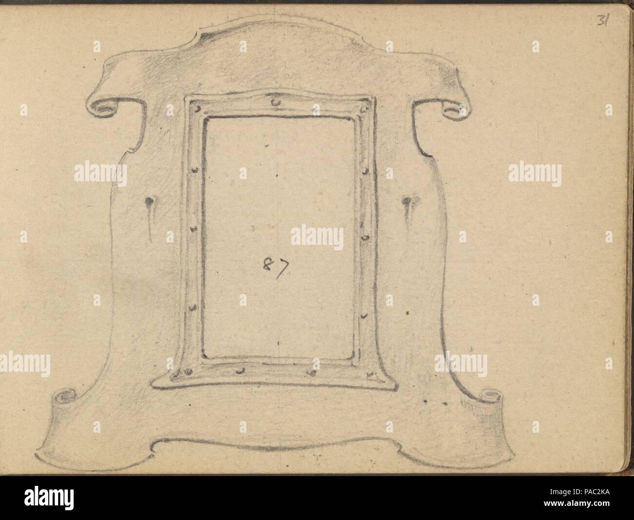 Diseño para una orla o bastidor. Artista: Edgar Gilstrap Simpson ...