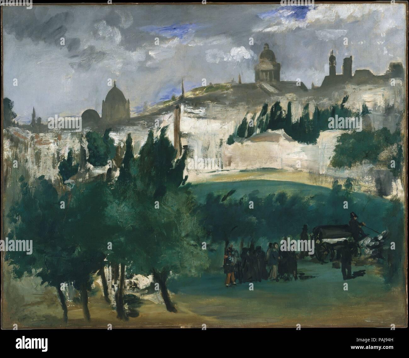 El funeral. Artista: Édouard Manet (francés, París París 1832-1883 ...