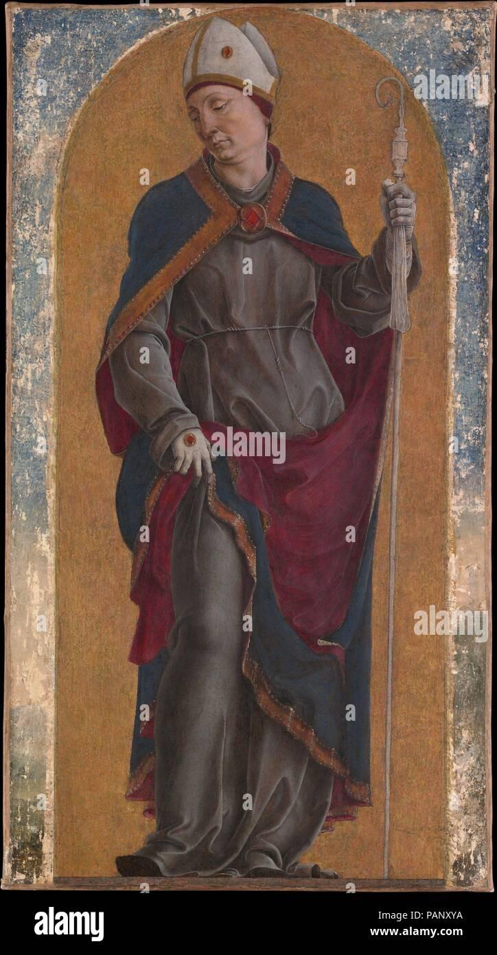 Saint Louis de Toulouse. Artista: Cosmè Tura (Cosimo di Domenico di ...