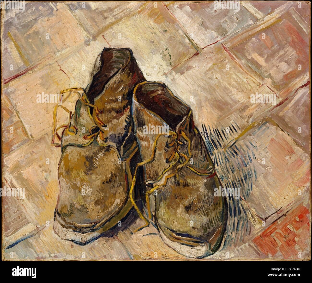 1853 1890 GoghholandésZundert ZapatosArtistaVincent Los Van fy6Yb7g