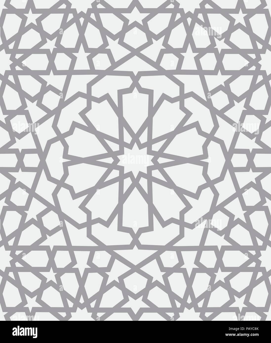 Islamic Vintage Floral Pattern Template Imágenes De Stock & Islamic ...