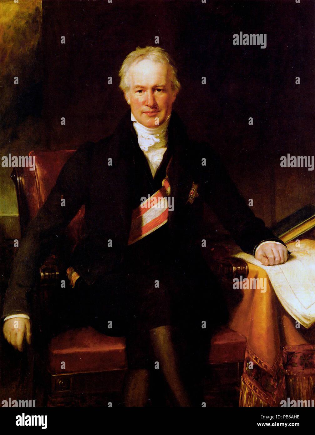 Alexander von Humboldt Foto de stock