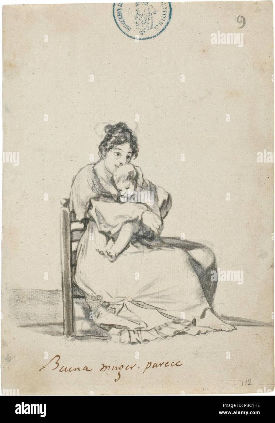 Francisco de Goya y Lucientes / 'buena mujer, aparentemente