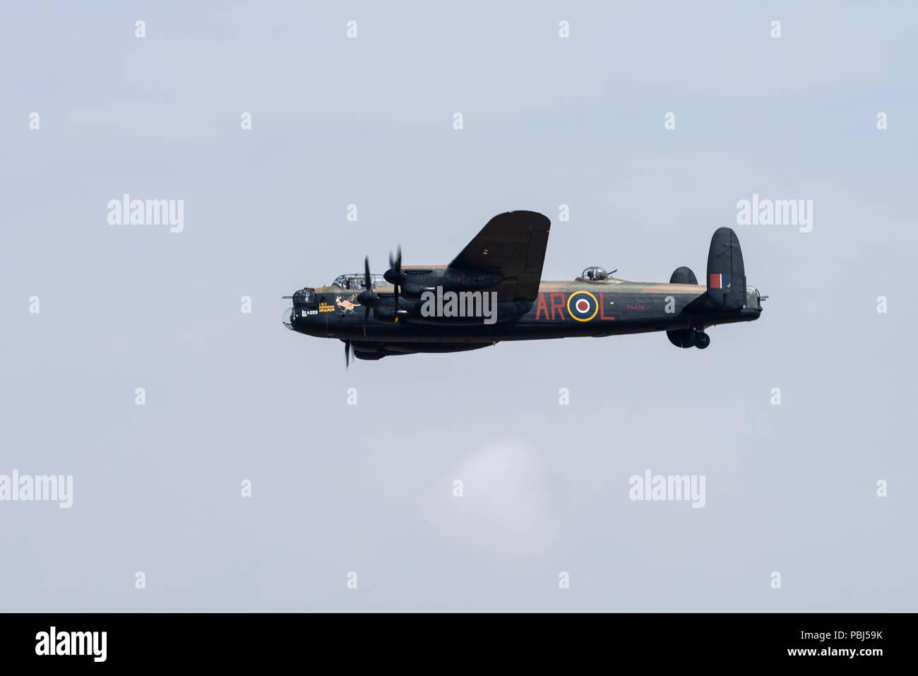 La batalla de Britain Memorial Flight, RAF Fairford, 2018 Foto de stock
