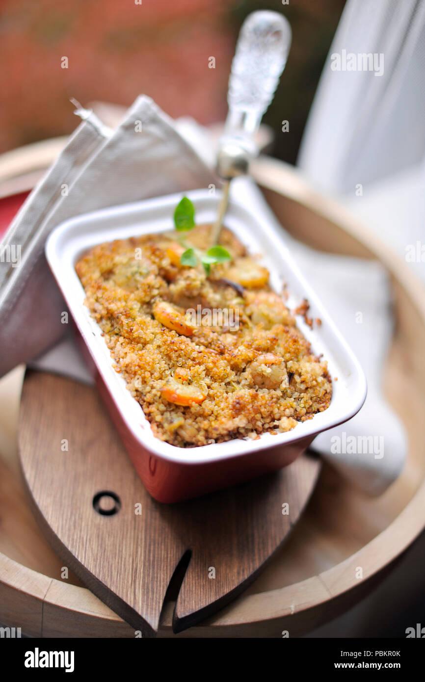Grañones para almorzar. Alimentos sanos y sabrosos. Copie el espacio. Imagen De Stock