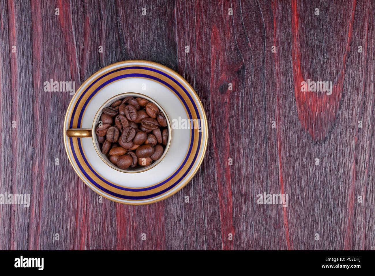 Cafe Dorado En Grano Fotos E Imagenes De Stock Alamy