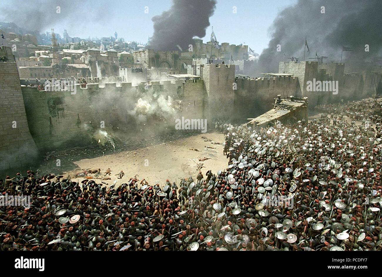 El Reino de los cielos 2005 20th Century Fox Film Imagen De Stock