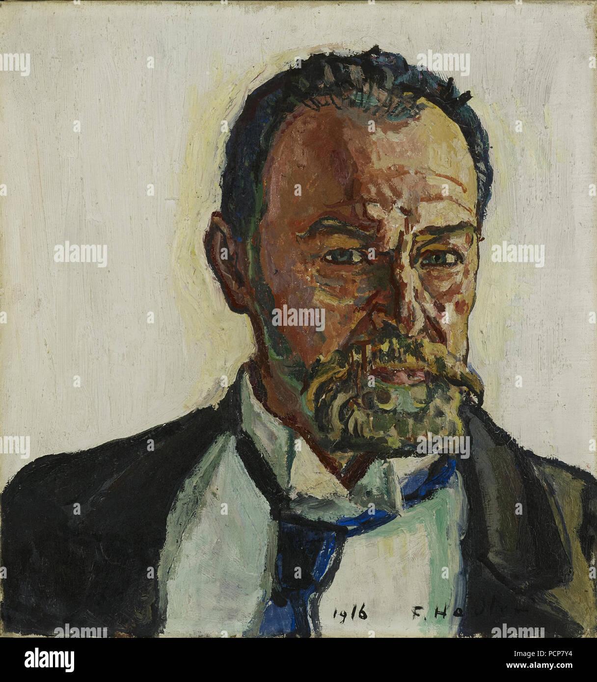 Self-Portrait, 1916. Foto de stock