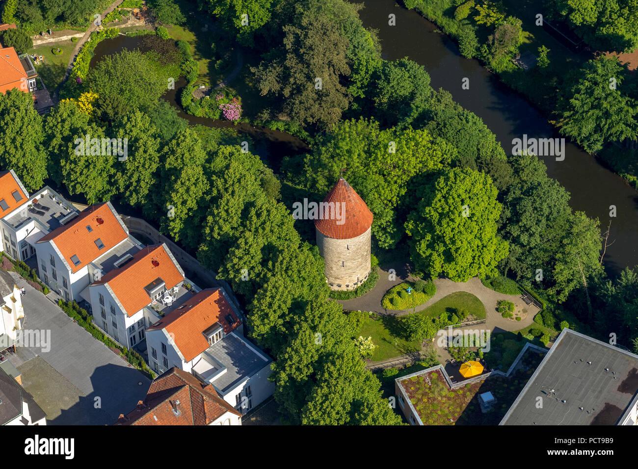 Torre de Bentheim, Warendorf (Alemania), ciudad de circunscripción Warendorf (Alemania), Renania del Norte-Westfalia, Alemania Foto de stock