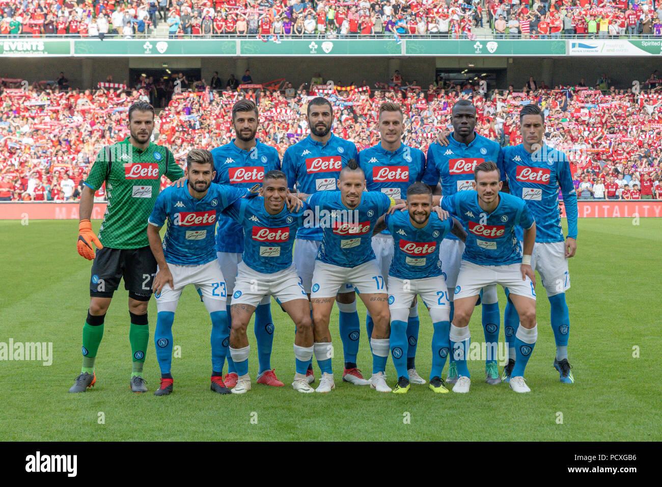 d3c0c3b196a18 Ssc Napoli Team Imágenes De Stock   Ssc Napoli Team Fotos De Stock ...