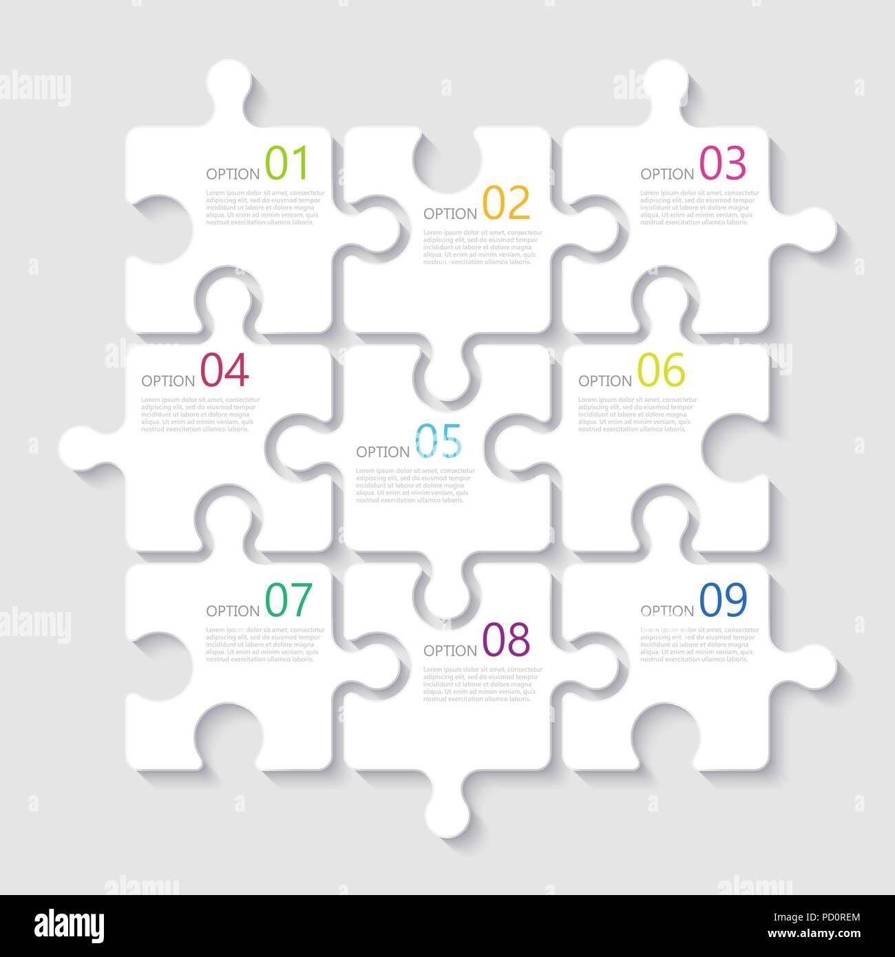 Puzzle Vector Vectors Imágenes De Stock & Puzzle Vector Vectors ...