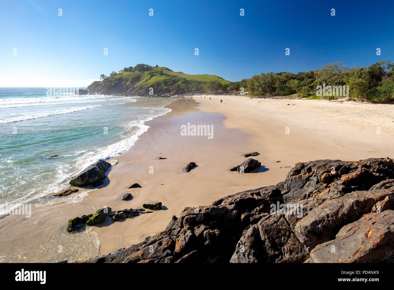Cabarita Beach Australia Foto de stock