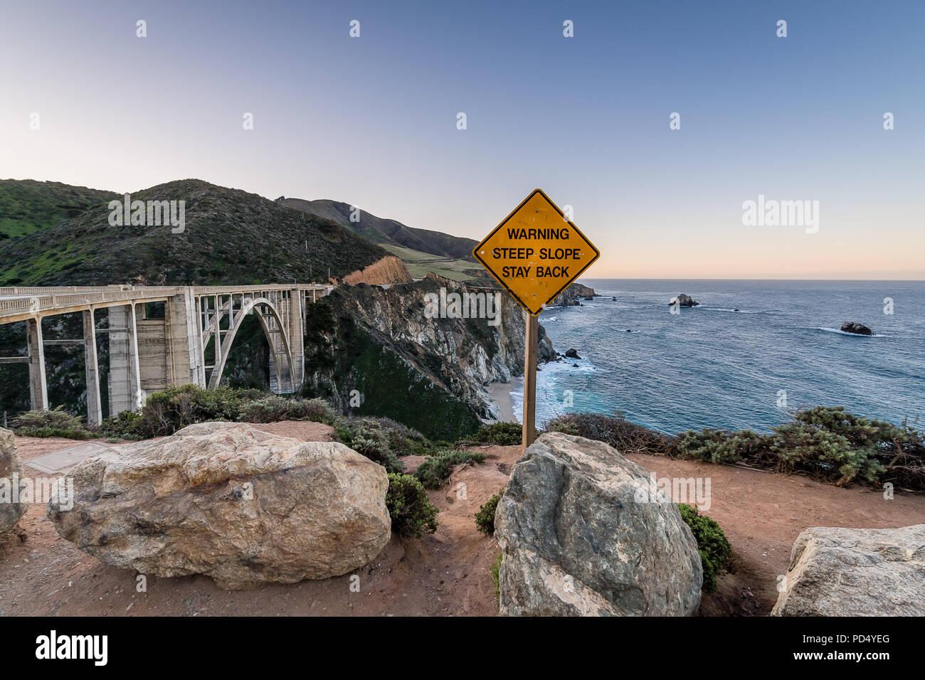 Big Sur y la costa de California Imagen De Stock