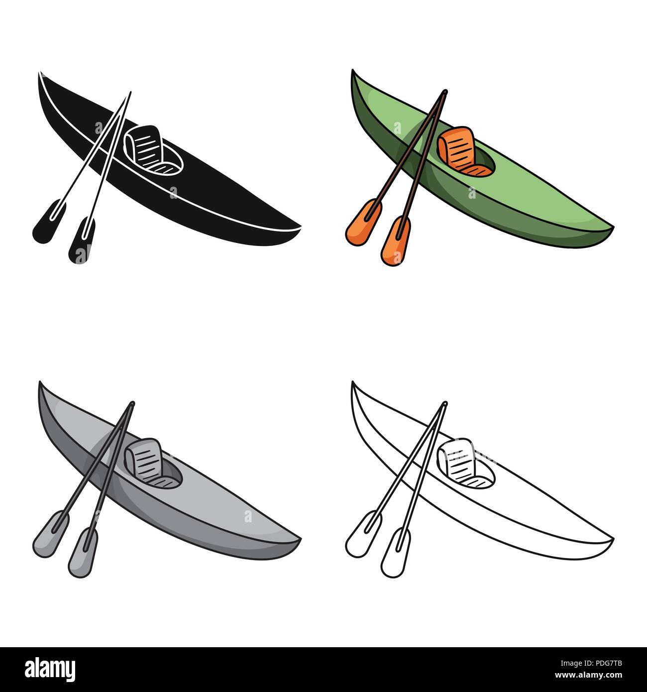 Verde Para El Descenso En Kayak En Un Río De Montañasports