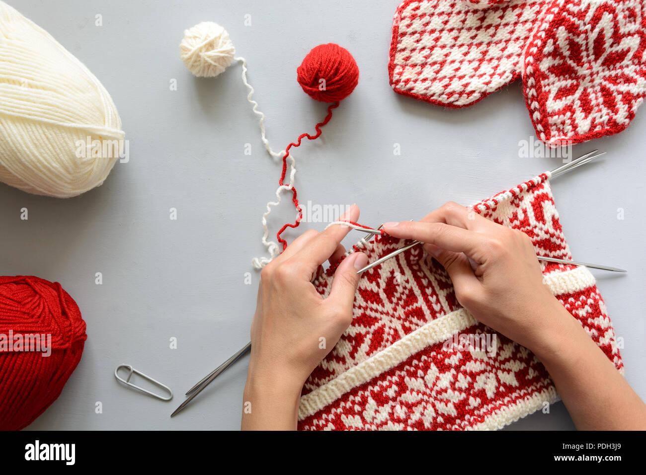 Jacquard Knit Imágenes De Stock Jacquard Knit Fotos De