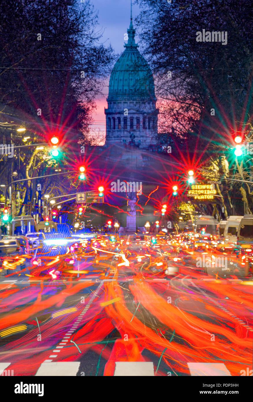 Argentina el Parlamento. Monserrat, Buenos Aires, Argentina Imagen De Stock