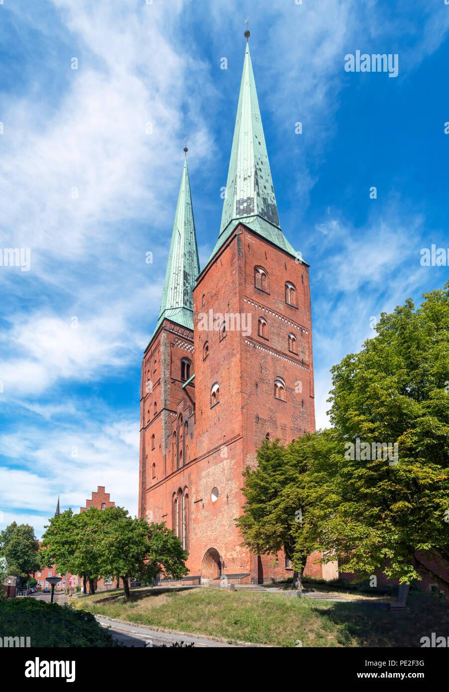 Lubeck Lübeck Dom (catedral), Lubeck, Schleswig-Holstein, Alemania Imagen De Stock