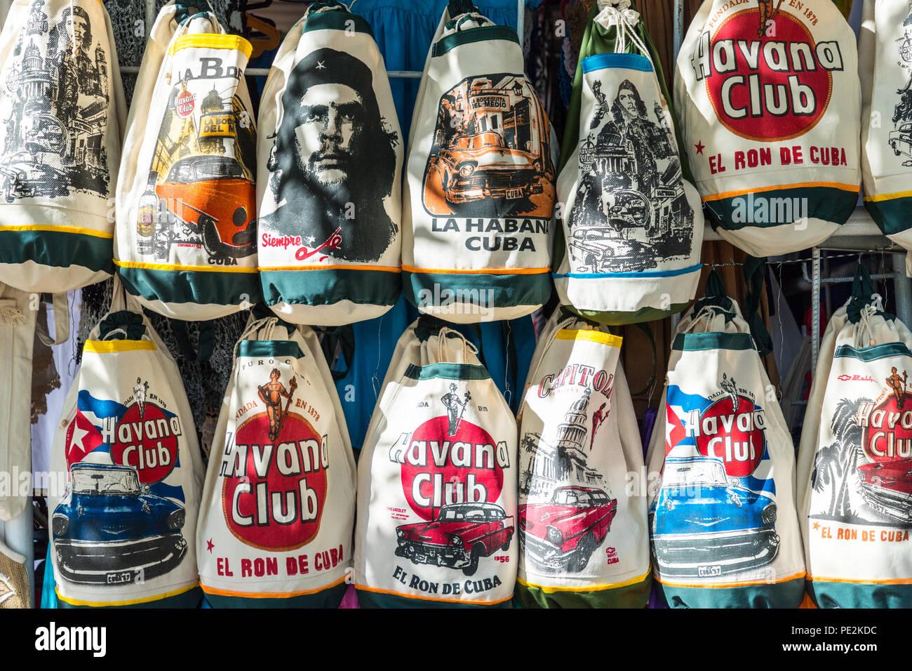 Una vista típica en Varadero en Cuba Imagen De Stock