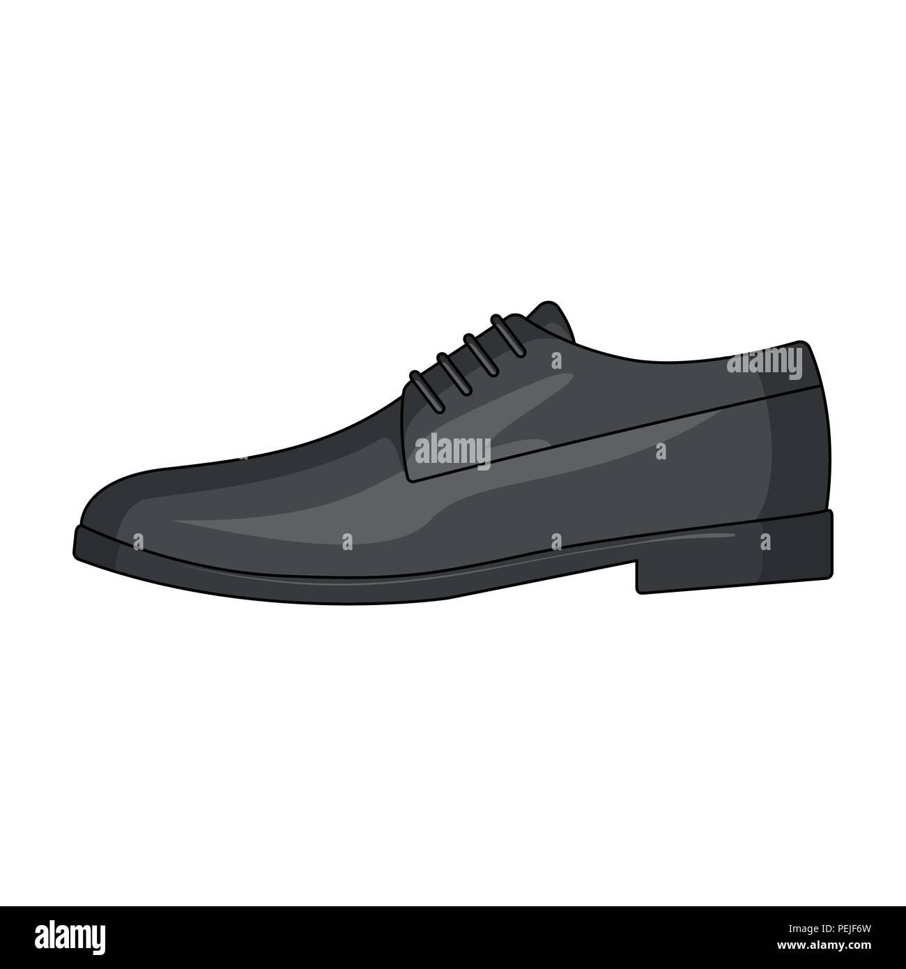 89918bb9939 Mens brillante cuero zapatos con cordones. Zapatos para llevar con un  traje.zapatillas diferentes único icono en el estilo de dibujos animados de  símbolos ...